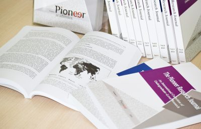 Pioneer research journal